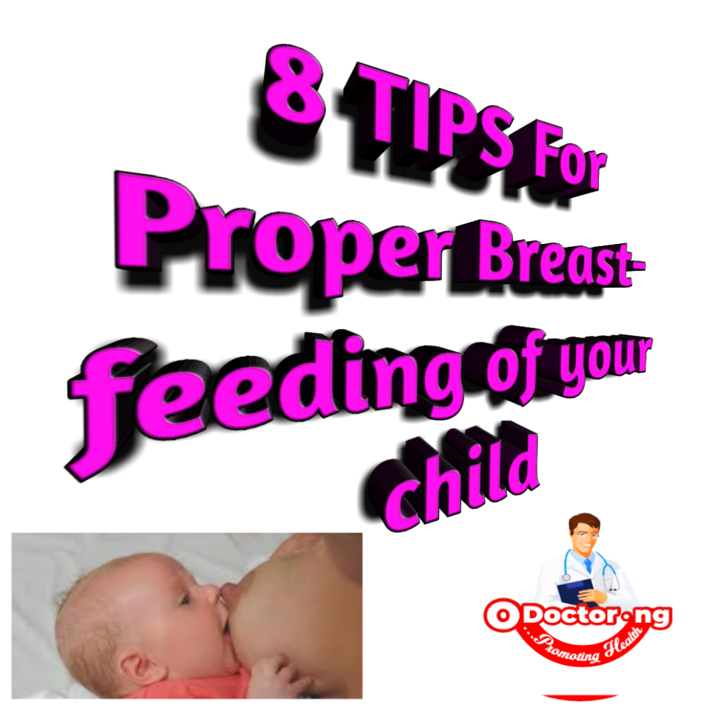 8 Best Ways to Breastfeed your child PROPERLY